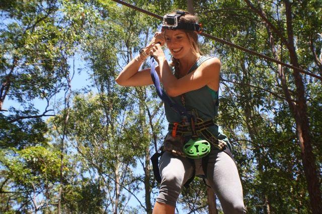 High ropes coaruse thiunderbird park
