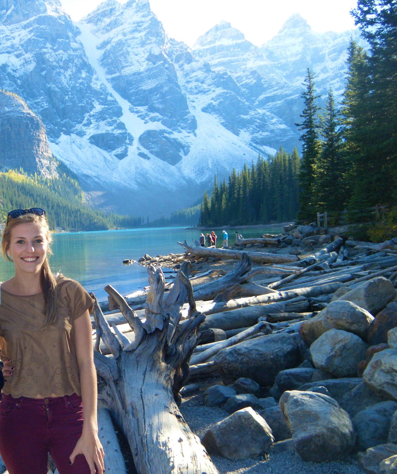 Moraine Lake Lake Louise A travellers footsteps