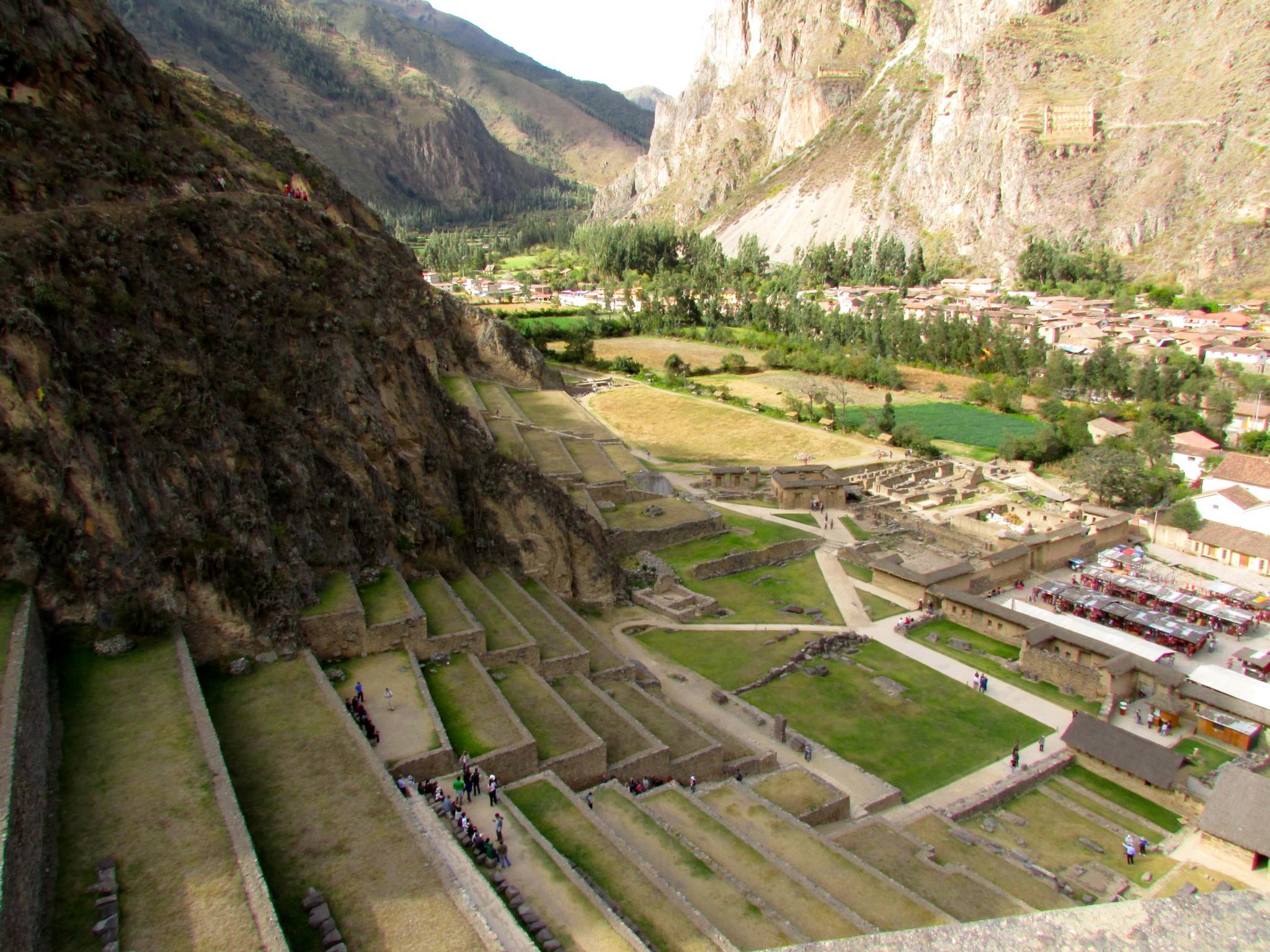 Ollantaytambo Ruins Sacred Valley Tours peru