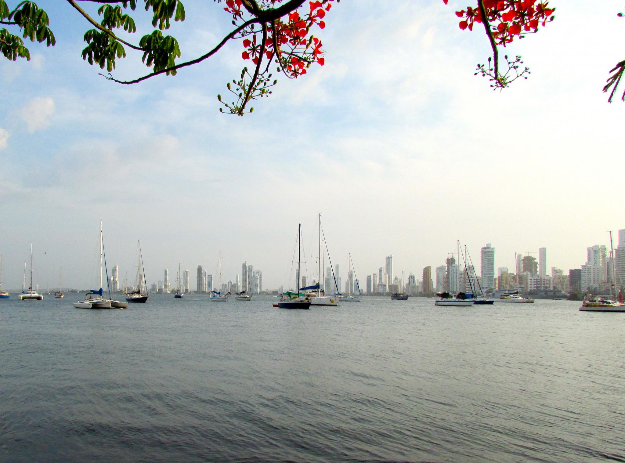 Cartagena waterfront