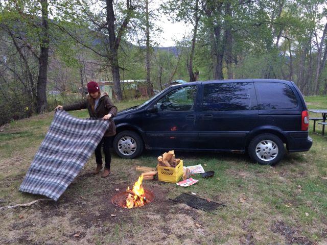 Camp free British Columbia BC