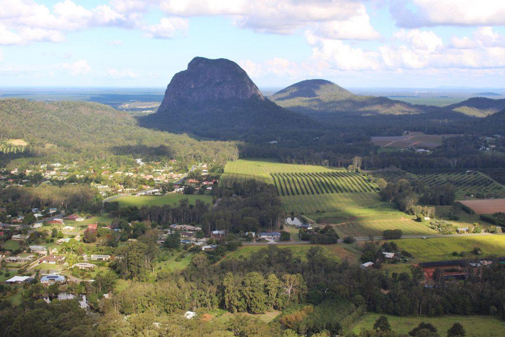 Hiking Mount Ngungun Glass House Mountains