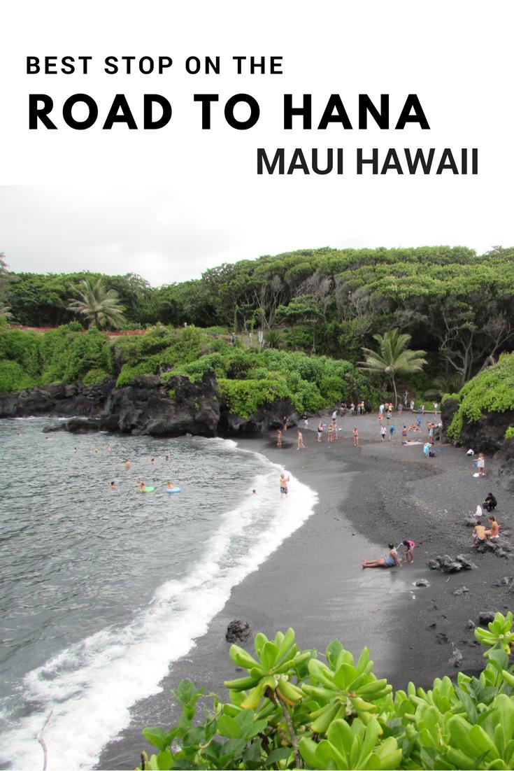 Best Stop on the Road to Hana - Maui - Hawaii