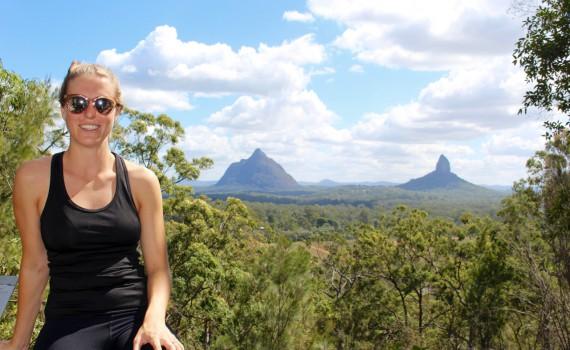 Hiking Mount Tibrogargan