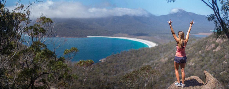 Wineglass Bay Lookout hike