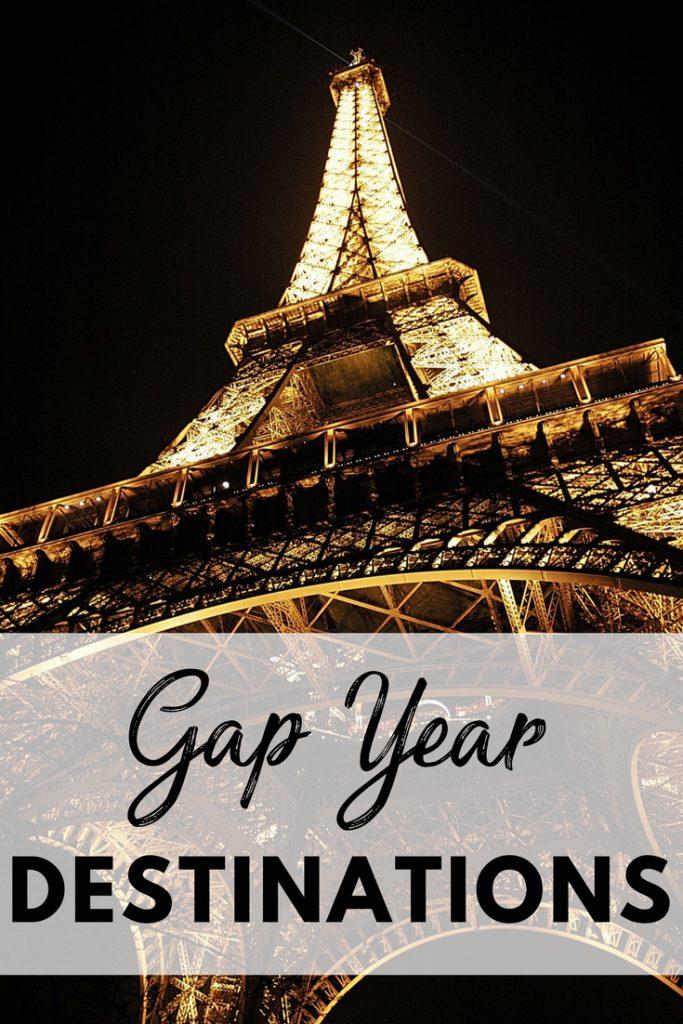 Gap year destinations