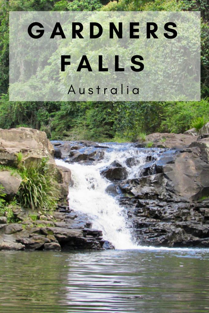 Gardners Falls Sunshine Coast Australia