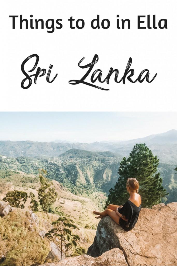 Things to do in Ella Sri Lanka