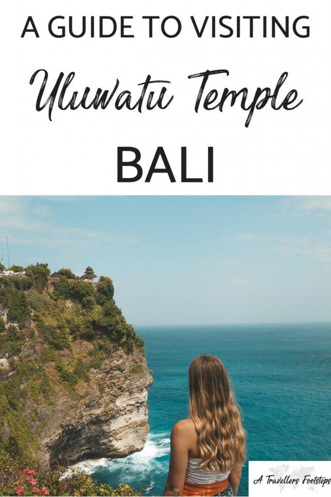 Visiting Uluwatu Temple