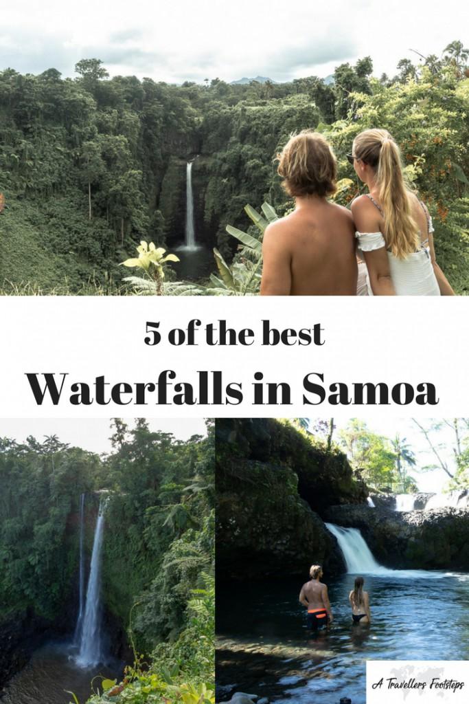 5 of the best waterfalls in Samoa
