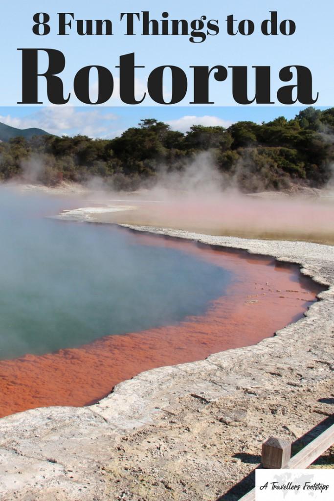 8 Fun Things to do in Rotorua