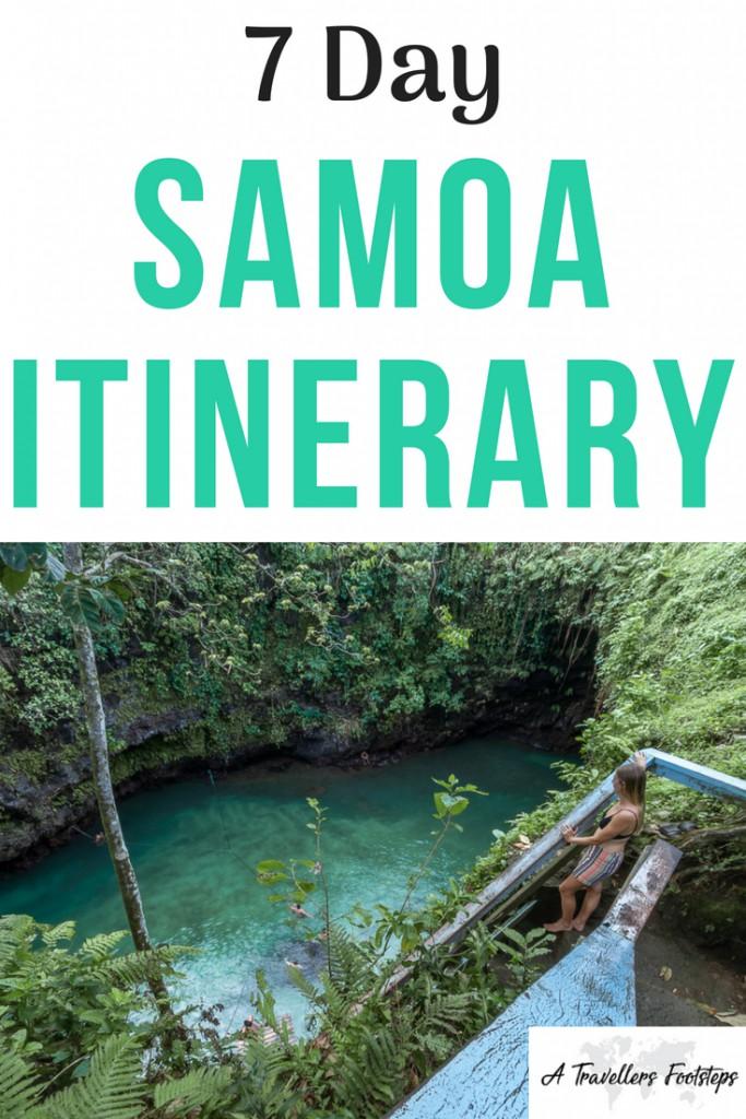 Things to do in Samoa : Samoa Itinerary