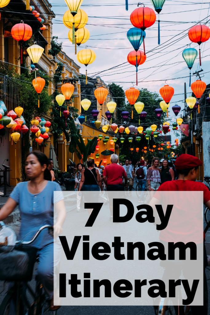 7 Day Vietnam Itinerary